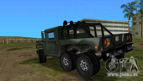 Patriot 6x6 für GTA Vice City linke Ansicht