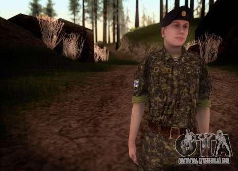 Le Corps des marines des forces armées de l'Ukra pour GTA San Andreas