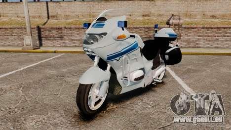 BMW R1150RT Police municipale [ELS] für GTA 4