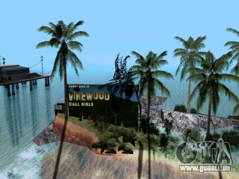 Nouvelle île v1.0 pour GTA San Andreas quatrième écran