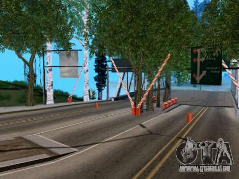 La douane de Los Santos, San Fierro v2.0 pour GTA San Andreas