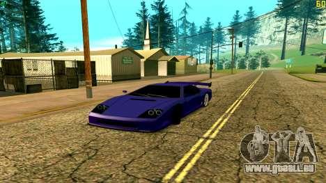Nouveau Turismo pour GTA San Andreas