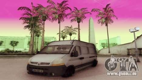 Renault Master für GTA San Andreas linke Ansicht