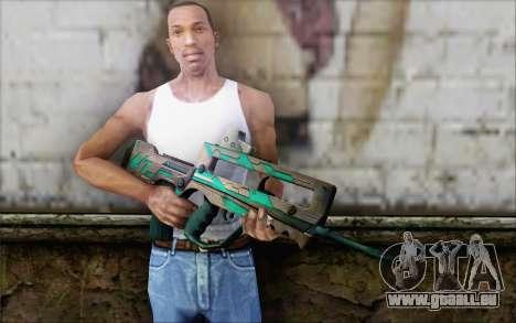 Famas G2 Commando Blaze für GTA San Andreas dritten Screenshot