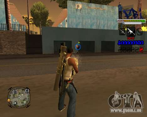 C-HUD FBI By iFreddy pour GTA San Andreas