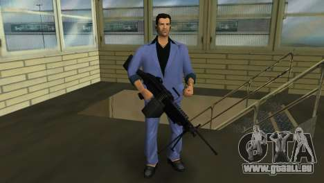 M249 из Battlefield 2 für GTA Vice City dritte Screenshot