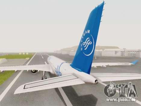 A330-202 China Eastern für GTA San Andreas linke Ansicht