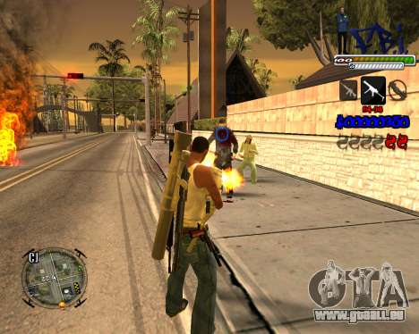 C-HUD FBI By iFreddy für GTA San Andreas dritten Screenshot