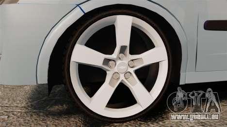 Chevrolet Corsa Premium Sedan pour GTA 4 Vue arrière