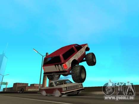 Street Monster für GTA San Andreas Innen