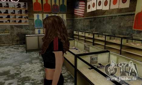 Carlita pour GTA San Andreas deuxième écran