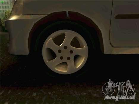 Mazda Demio 1998 pour GTA San Andreas vue arrière