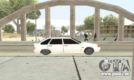 VAZ 2114 Avtosh für GTA San Andreas Rückansicht