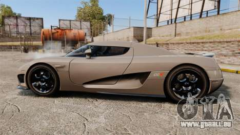 Koenigsegg CCX pour GTA 4 est une gauche