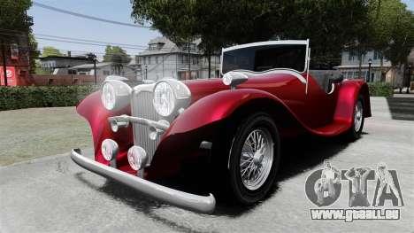 Jaguar SS100 für GTA 4
