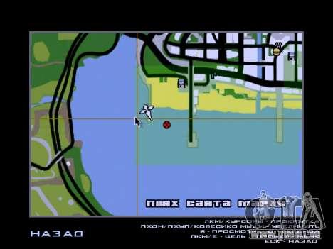 Nouvelle île v1.0 pour GTA San Andreas onzième écran