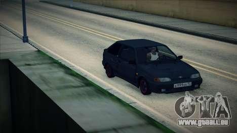 La VAZ-2113 pour GTA San Andreas sur la vue arrière gauche