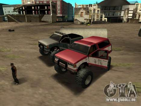 Street Monster für GTA San Andreas linke Ansicht