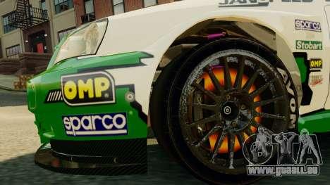 Chevrolet Lacetti pour GTA 4 est une vue de l'intérieur