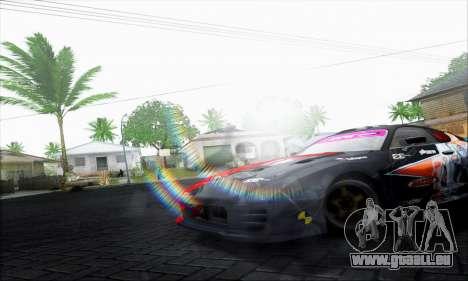 Lensflare By DjBeast pour GTA San Andreas troisième écran