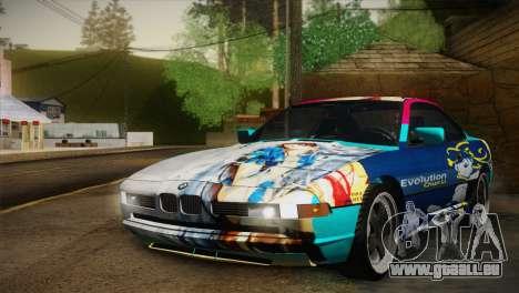 BMW M8 Custom pour GTA San Andreas vue de côté