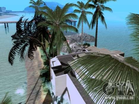 Nouvelle île v1.0 pour GTA San Andreas sixième écran