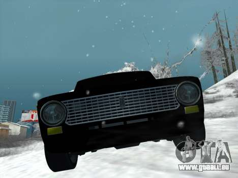ВАЗ 2101 Tuning Style pour GTA San Andreas sur la vue arrière gauche