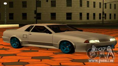 Elegy AssemblY für GTA San Andreas obere Ansicht