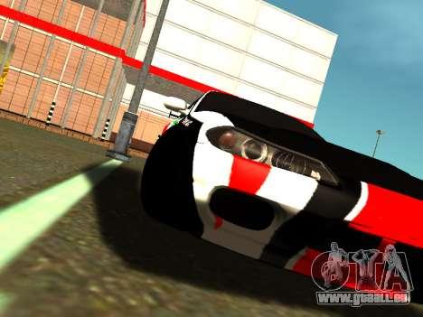 Nissan Silvia S15 Team Dragtimes für GTA San Andreas Rückansicht