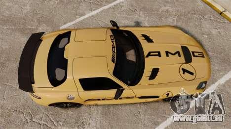 Mercedes-Benz SLS 2014 AMG Driving Academy v2.0 pour GTA 4 est un droit