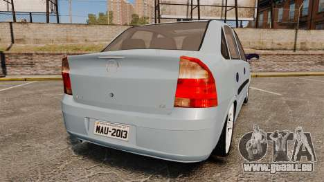 Chevrolet Corsa Premium Sedan pour GTA 4 Vue arrière de la gauche