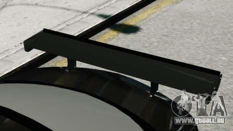 Mercedes-Benz C63 AMG Black Series 2012 für GTA 4 hinten links Ansicht