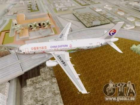 Airbus A320-211 China Eastern pour GTA San Andreas vue de côté