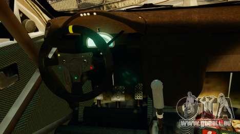Chevrolet Lacetti pour GTA 4 Vue arrière