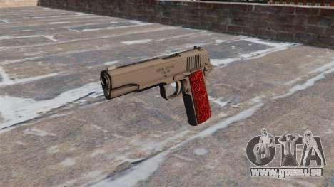 Les Pistolets Colt 1911 Chrome pour GTA 4 troisième écran