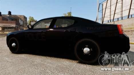Dodge Charger Slicktop Police [ELS] für GTA 4 linke Ansicht