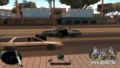 C-HUD Army Gang pour GTA San Andreas quatrième écran
