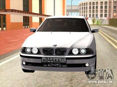 BMW 530d E39 für GTA San Andreas linke Ansicht