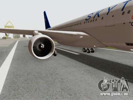 A330-202 China Eastern für GTA San Andreas Rückansicht