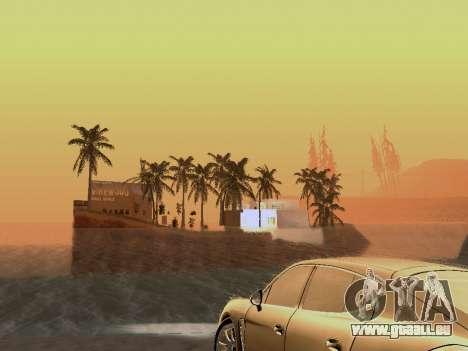 Nouvelle île v1.0 pour GTA San Andreas neuvième écran