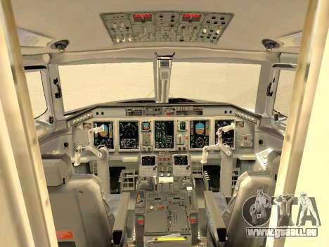 Embraer 175 HOUSE pour GTA San Andreas roue