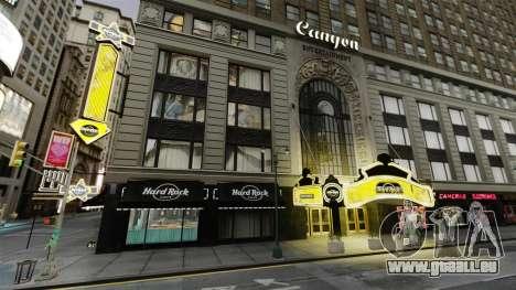 Le Hard Rock café de times square pour GTA 4