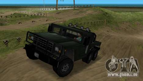 Patriot 6x6 pour GTA Vice City