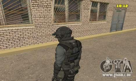 Archer aus dem Spiel Splinter Cell Conviction für GTA San Andreas zweiten Screenshot