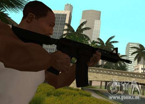 M4 CQB pour GTA San Andreas deuxième écran