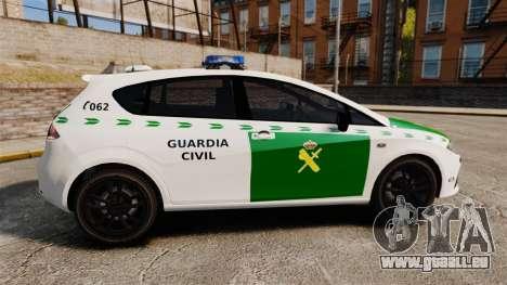 Seat Cupra Guardia Civil [ELS] für GTA 4 linke Ansicht