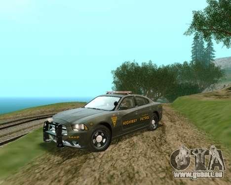 Dodge Charger 2012 SAHP für GTA San Andreas
