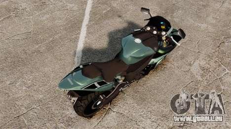 Yamaha R1 RN12 [Update] pour GTA 4 Vue arrière de la gauche