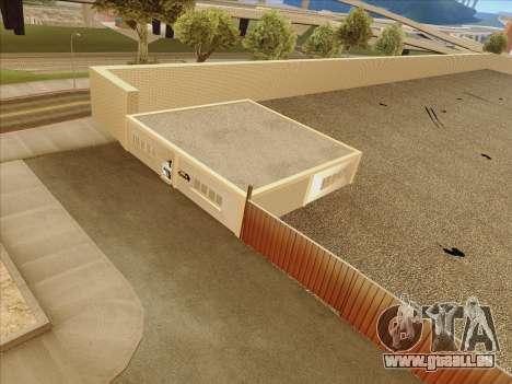 Mise à jour des textures à l'école de conduite pour GTA San Andreas cinquième écran