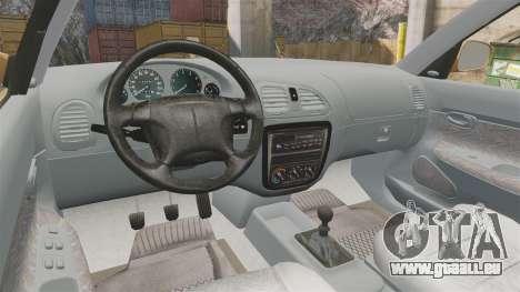 Daewoo Nubira I Wagon CDX PL 1998 für GTA 4 Rückansicht